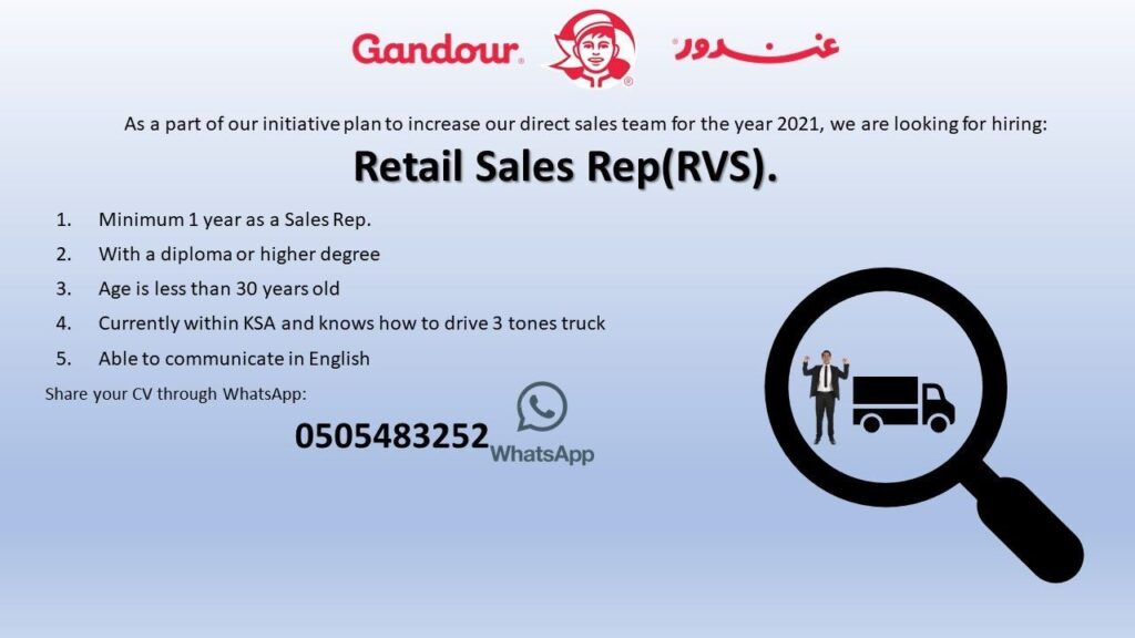Retail Sales Rep at Gandour